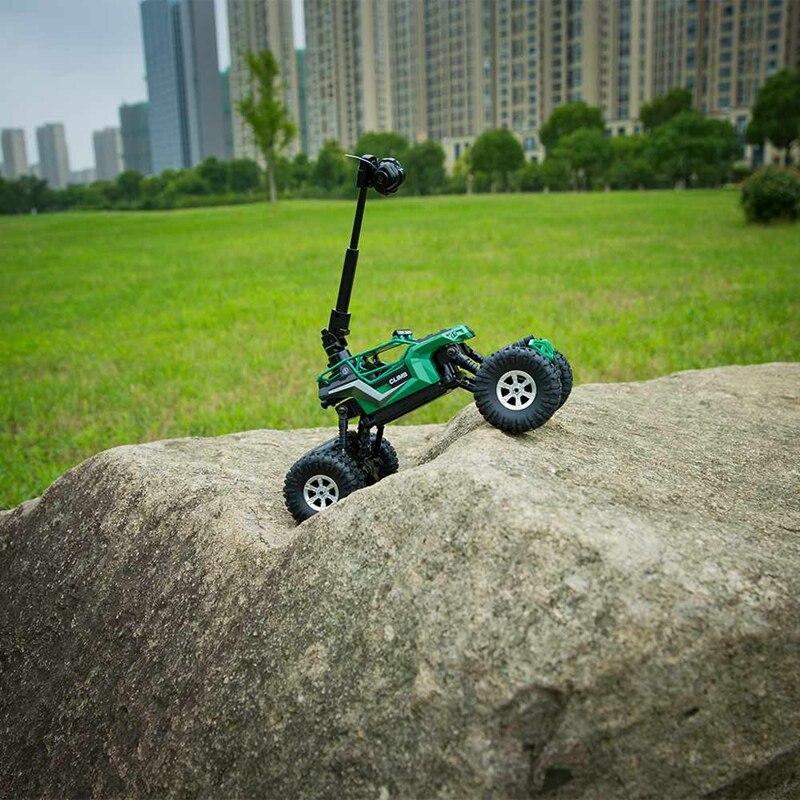 Afstandsbediening Auto Rc Mountainbike 1:16 2.4G Met Camera Wifi Mobiele Telefoon Afstandsbediening Vier Drive Waterdicht Klimmen auto - 6