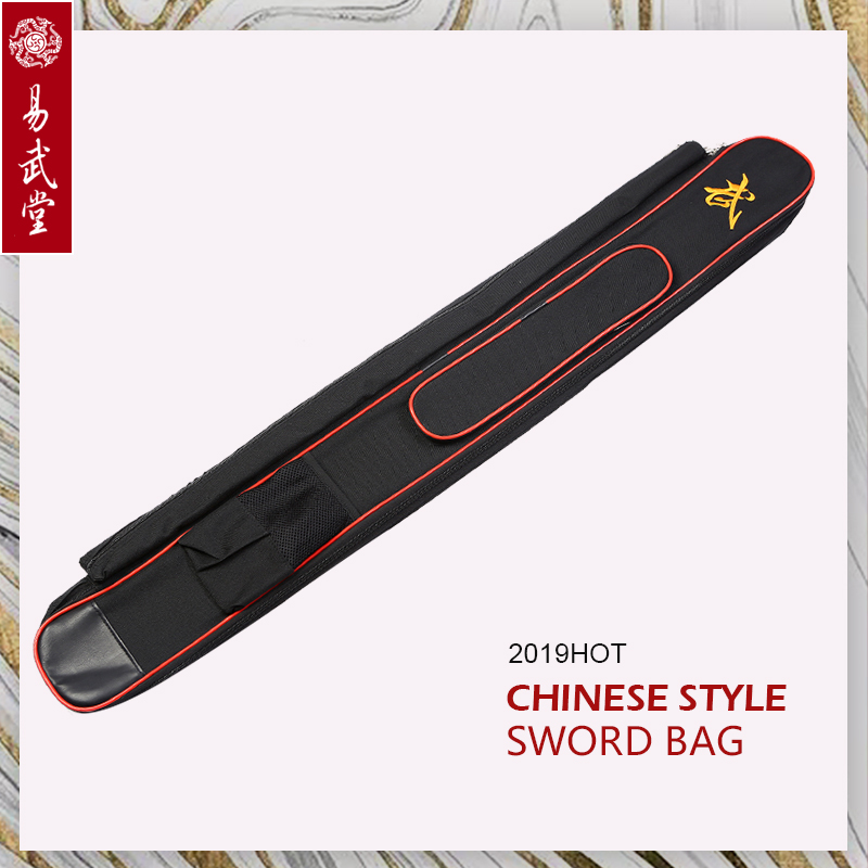 Large Capacity Multifunction Sword Stick Bags 1.1m  Taichi Double-Layer Sword Bags  Wushu And Kung Fu Martial Arts Products