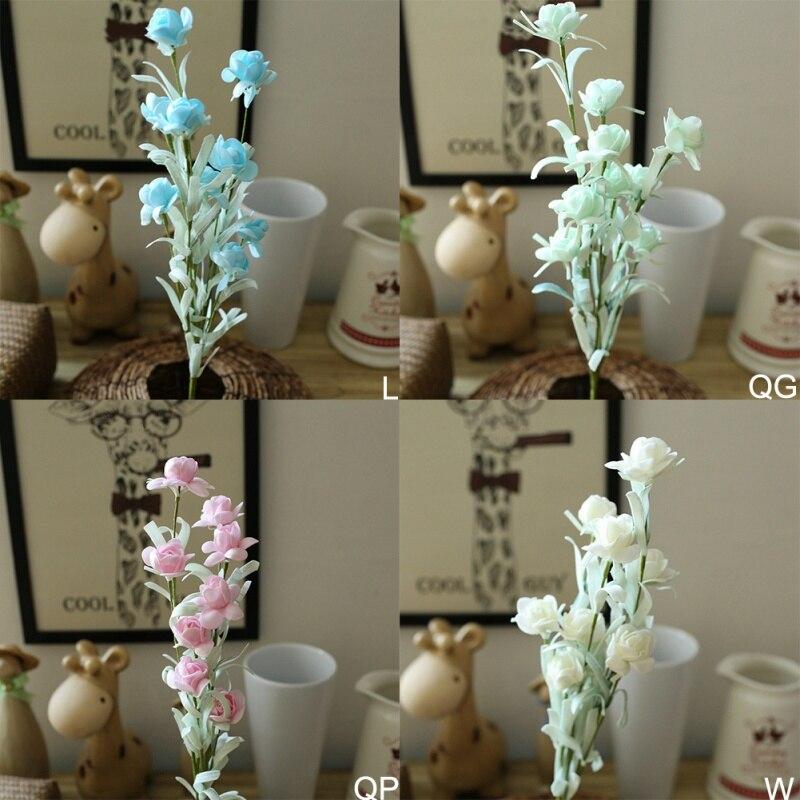 Новые белые искусственные вишневые цветы дерево имитация поддельные персик желаний елки рождественская елка для домашнего декора Свадебн... - 6