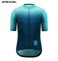 SPEXCEL New 2018 Gradient Color Pro Aero Cycling Jersey Short sleeve Race tight fit Cycling Clothing Road Bike Maillot Ciclismo