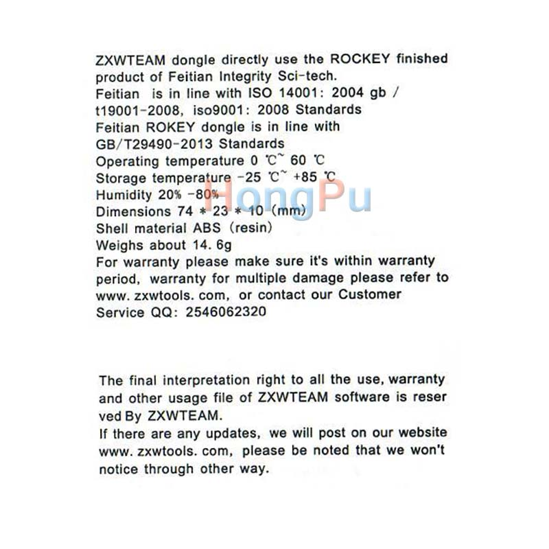 2018 100% Original Zillion x Work ZXW DONGLE Repair mobile phone ...