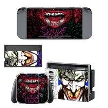 DC Batman Joker Decal Nintendo Switch NS Console + Joy-Con Controller + Dock Station Protective Skin