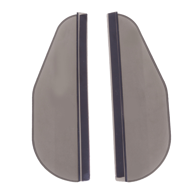 VODOOL 2Pcs PVC Car Rear View Mirror Sticker Rain Eyebrow Auto Side Mirror Rain Board Shield Sunshade Snow Guard Protector Cover 4