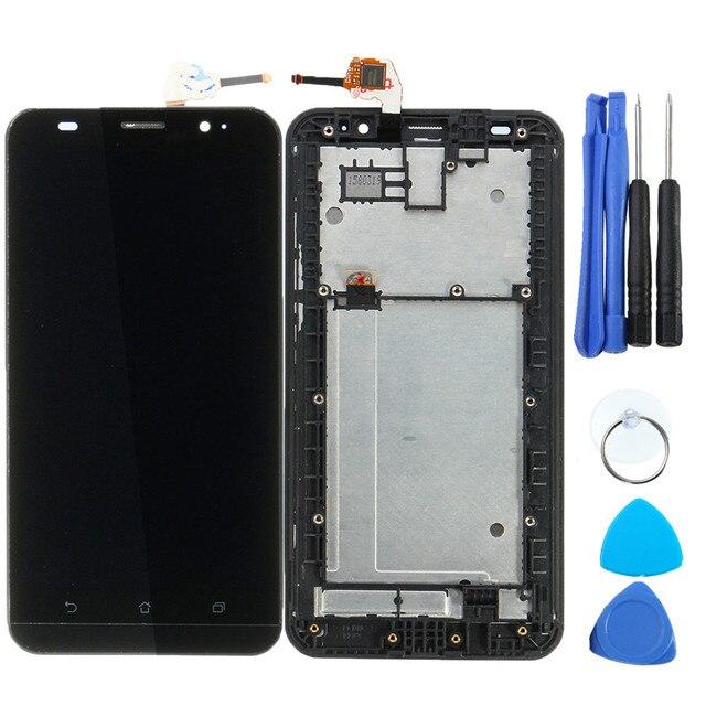 Новое Прибытие Сенсорный Внешний Экран + ЖК-Дисплей + Рамка ассамблея Для Asus Zenfone 2 ZE551ML + Ремонт Телефонов Инструменты аксессуары
