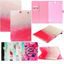 Tablet T550 T555 Funda For Samsung Galaxy A 9.7 inch Fashion Mandala Leather Flip Wallet Case Cover Coque Shell 9.7 Skin Stand освежитель кондиционера fill inn ликвидатор запахов 210 мл