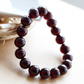 CERTIFICATE Size Plus 10mm to 11mm Natural Garnet Bracelet Men Health Care Balls Bracelets for Women Romantic Jewelry Gift