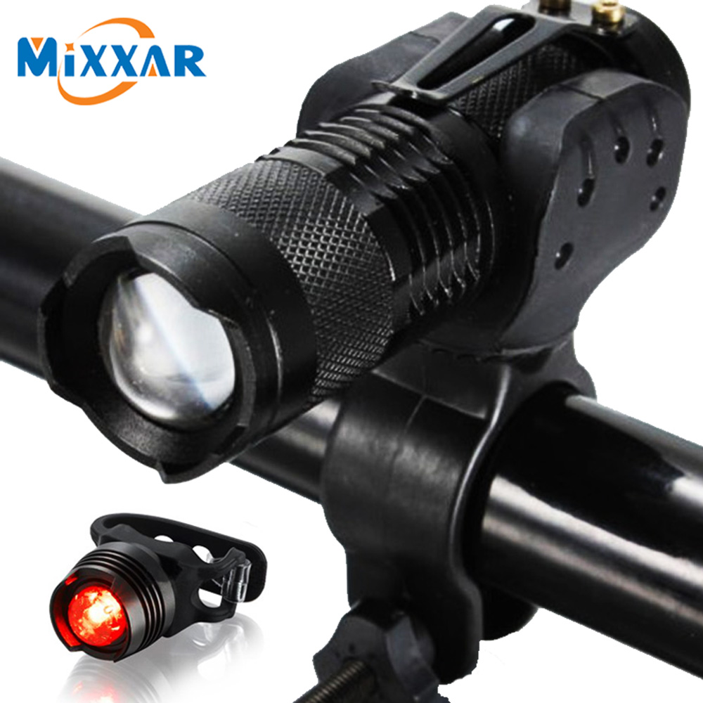 Dropshipping Waterproof Zoomable Flashlight Bicycle Light 3 Mode Bike Flashlights Q5 LED Cycling Torch Front Zoom Lights Lamp