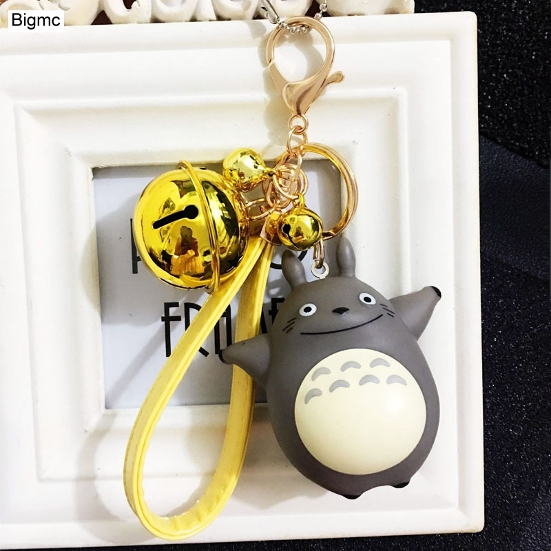 Dragoncat Keychain - Cartoon Cute Doll Key Chain Creative Bells Car Bag Key Chain Pendant Gift Wholesale K1505