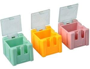 Image 4 - Fast Shipping 50Pcs SMD SMTส่วนประกอบกล่องเก็บกล่องอิเล็กทรอนิกส์ชุด 1 # โดยอัตโนมัติPops Up Patchกล่อง