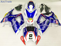Motorcycle Fairings Kits For Suzuki GSXR GSX R 600 750 GSXR600 GSXR750 2006 2007 K6 06 07 ABS Plastic Injection Fairing Kit A722