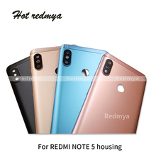 Original New Spare Housing Parts  For Xiaomi Redmi Note 5 Aluminium Back Battery Cover Door Replacement