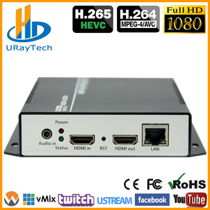 Best Sell HEVC H.265 /H 265 /H265 HDMI Video Encoder IPTV Hardware RTSP RTMP UDP H.264 For IPTV, Live Streaming Broadcast