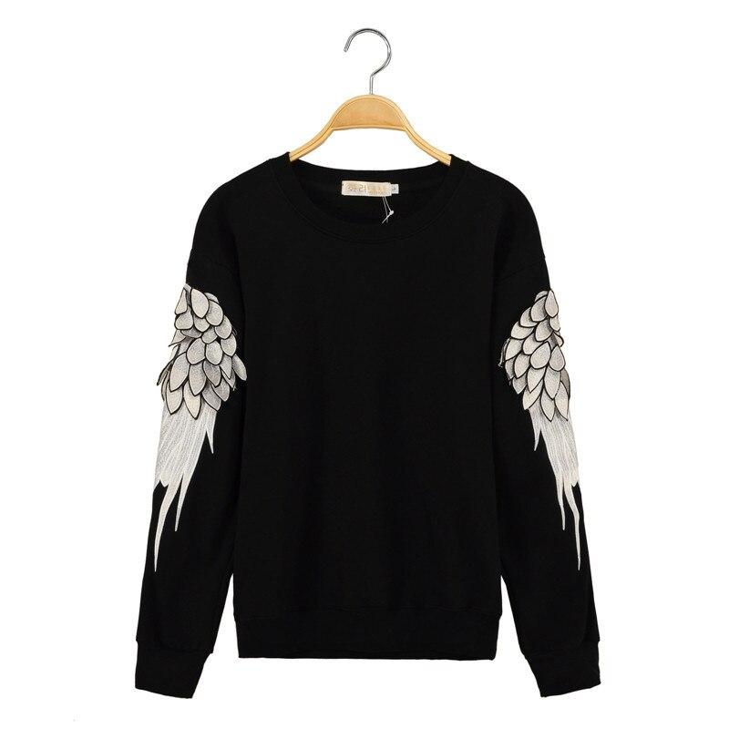 3 color 2015 brand Celebrity fashion hipster men women hoodies Feathers  crewneck sweatshirt women sudaderas swag pullover hoodie-in Hoodies    Sweatshirts ... 928bb4588