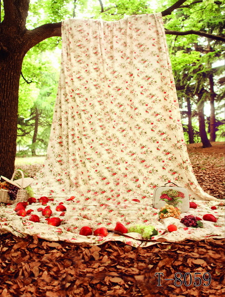 Long Sheet Hanging On Tree Branch Apples Falling Outdoor Children Wedding  Photo Studio Decor Vinyl 150X300CM