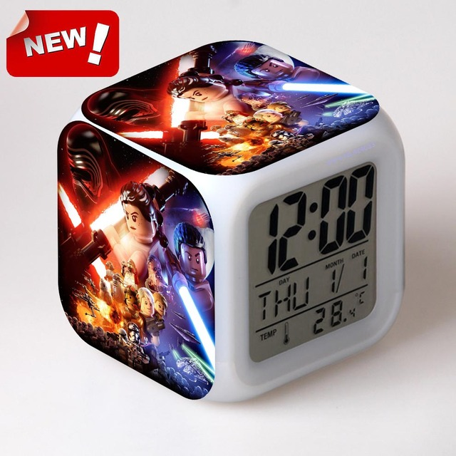 The Force Awakers Star War Digital Wake Up Light Alarm Clock