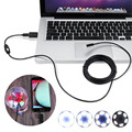 2m 7mm 30W Pixels Micro USB OTG Endoscope Waterproof Sewer Car Inspection Snake Tube Video Camera for Android Phone Computer