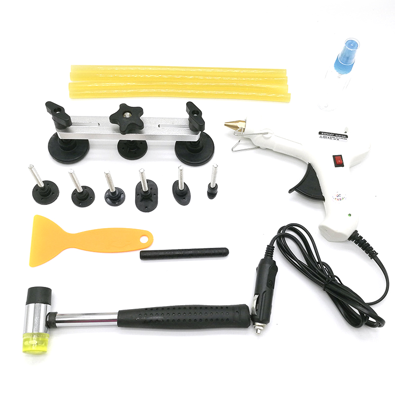 Automobile Sheet Metal Dent Repair Tool Bump Pit Puller Free Spray Paint Seamless Suction Cup With Glue Tool Bridge