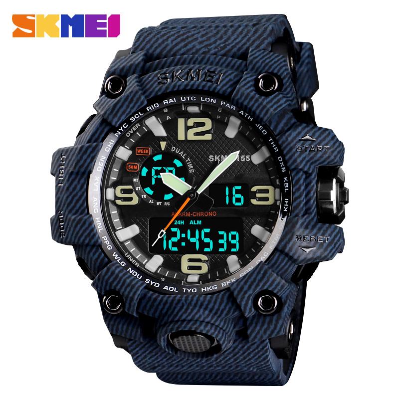 New S Shock Brand SKMEI Sports Watches Waterproof Digital Quartz Watch Men Big Dial Military Men Wrist Watch Relogio Masculino