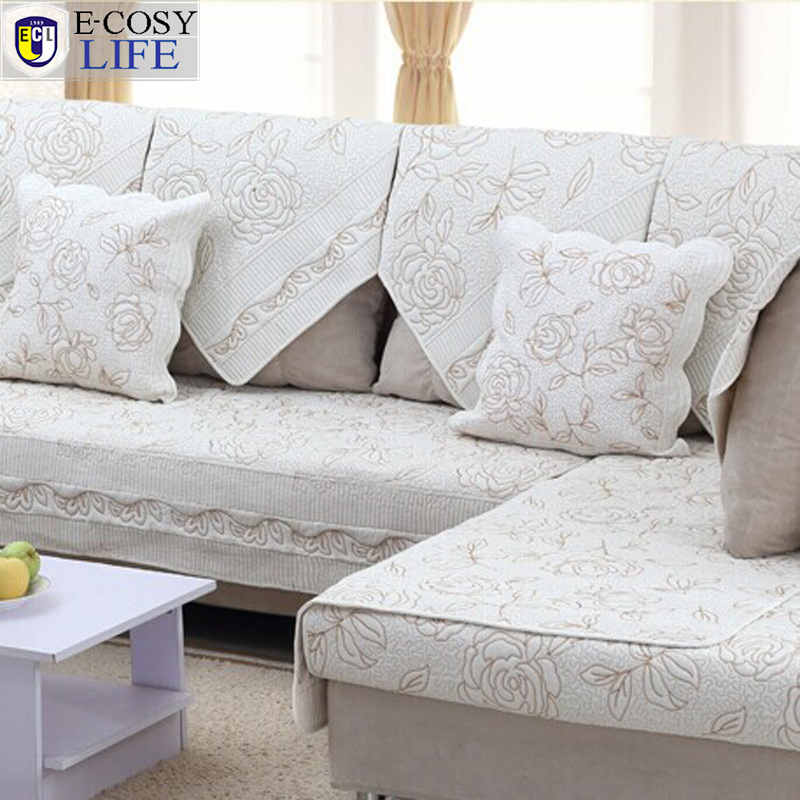 Fabric Sofa Covers Singapore Goodca Sofa : Hot Sale Europe Cotton Hand Embroidery Quilted Sofa Cover Fashion Floral font b Sectional b font from goodcaddy.net size 800 x 800 jpeg 335kB