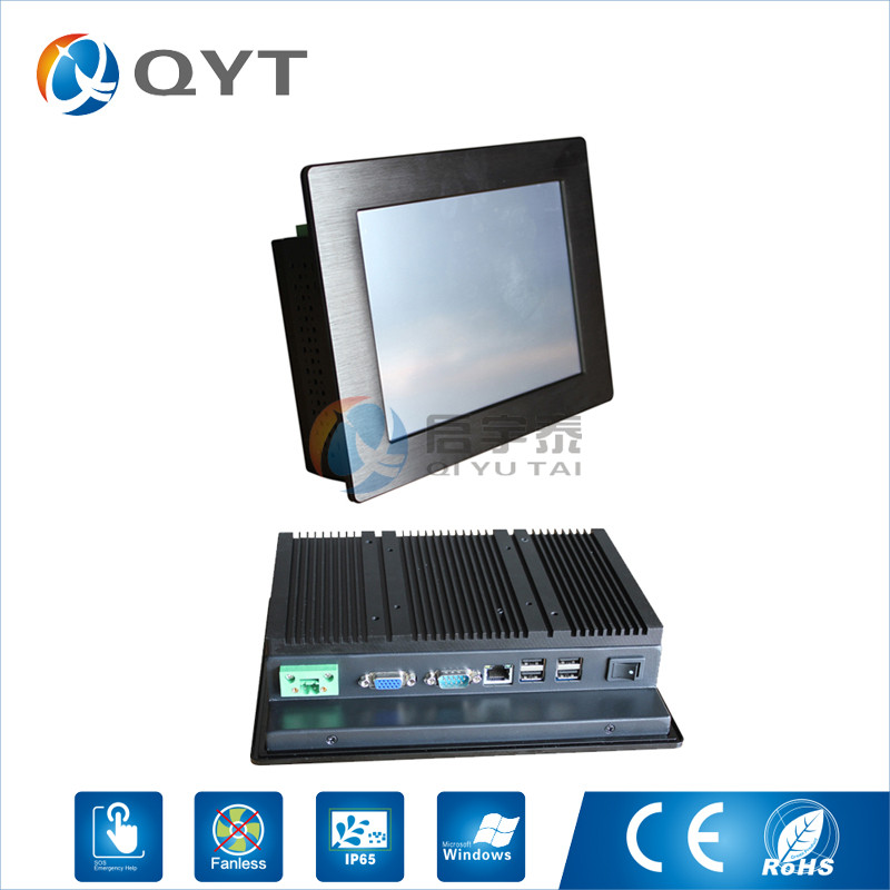 Atom N2807 1.6GHz mini computer pc indsutrial touch screen panel Resolution 800x600 pc in stock all in one pc 2GB RAM 32G SSD