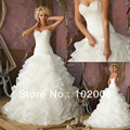Ball Gown Wedding Dress Bride Sweetheart Lace Beaded Corset Dropped Vestido De Noiva Puffy Wedding Dresses Casamento Bodas 2015