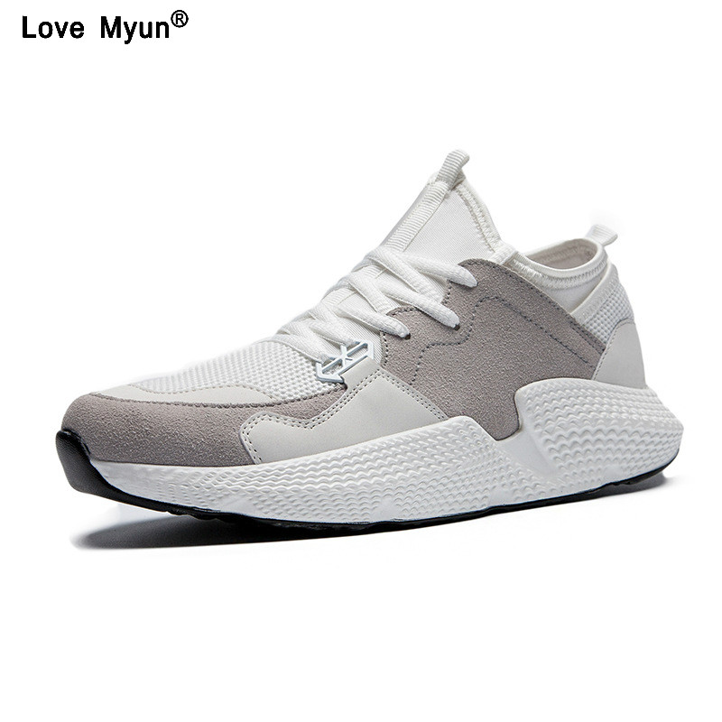 Spring Autumn Men's Fashion Casual Shoes Trend Male Air Mesh Breathable Men For Adult Comfortable Sneakers air mesh breathable hook