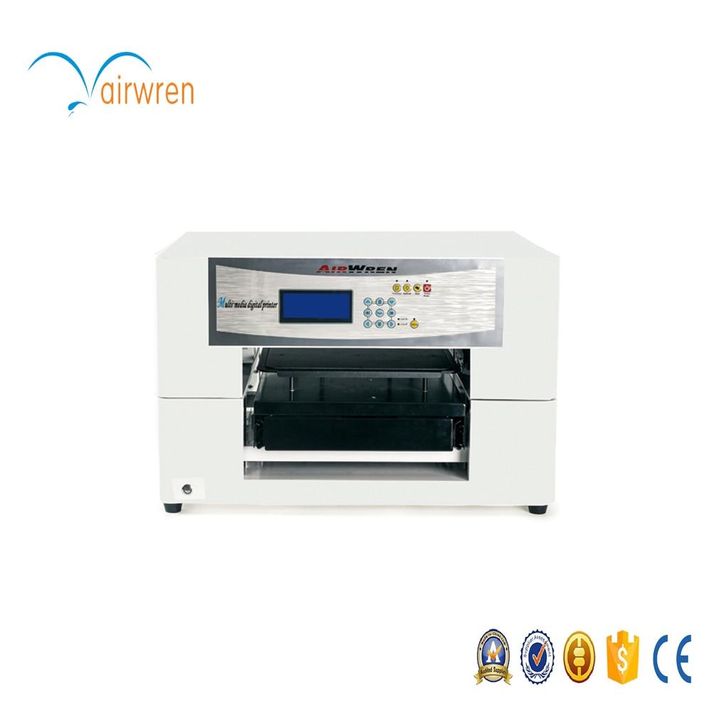 Shirt design printer - New Design 2017 Cotton Fabric Printer A3 Sizes T Shirt Printer Machine With 6 Colors