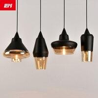 Modern Nordic style led pendant lamp Home Dining Room Glass aluminum pendant light Decoration Lamp kitchen lighting ZDD0104