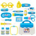 Funny Toys Doctor Play sets Simulation Medicine Box Role Pretent Play Doctor Toys Stethoscope Injections Children gifts