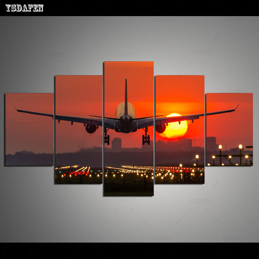 HD Printed Painting Canvas Printing Plane painting hoom decor print poster picture canvas Franed art HG-1722