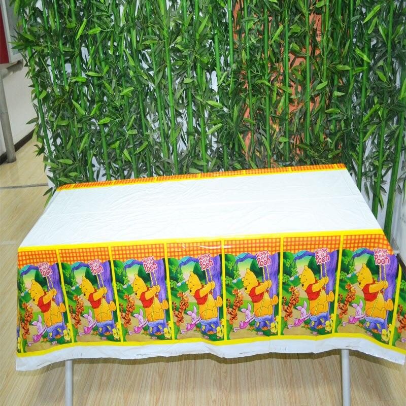 108x180 cm/set winnie the pooh mantel de dibujos animados para los niños decorac