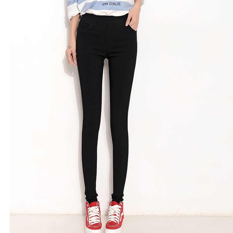 Тонкие леггинсы с карманами; брюки-карандаш; женские брюки большого размера; женские Стрейчевые брюки ярких цветов; женские брюки