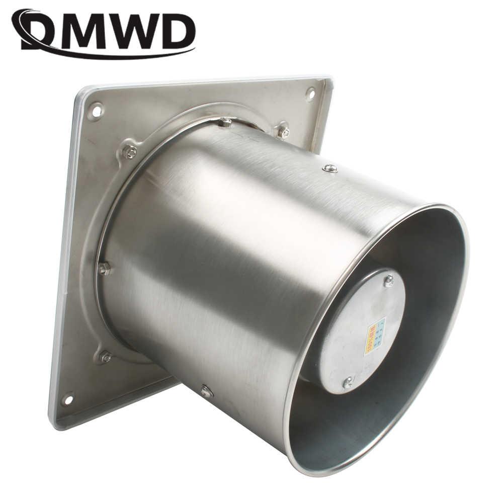 DMWD 6 インチ 45 ワット 220v 高速排気ファン送風機トイレぶら下げ壁ウィンドウ人工呼吸器空気換気扇 6''