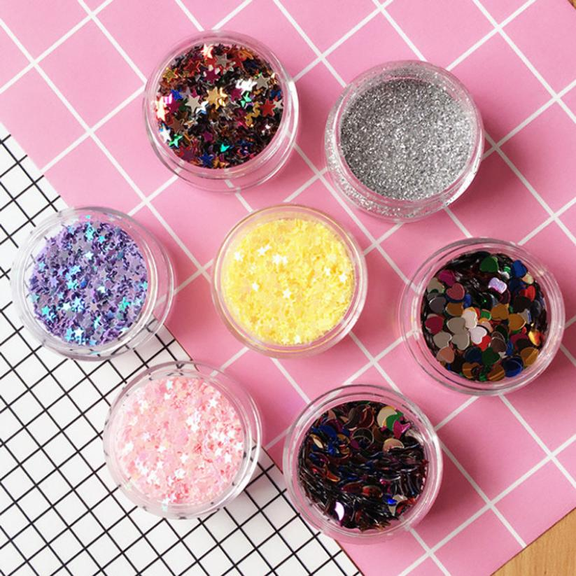 Flake Chunky Glitter Pots Nail Face Eye Shadow Tattoo Festival Body Dance  Party Levert Dropship OC09-in Eye Shadow from Beauty   Health on  Aliexpress.com ... f919a248f1a1