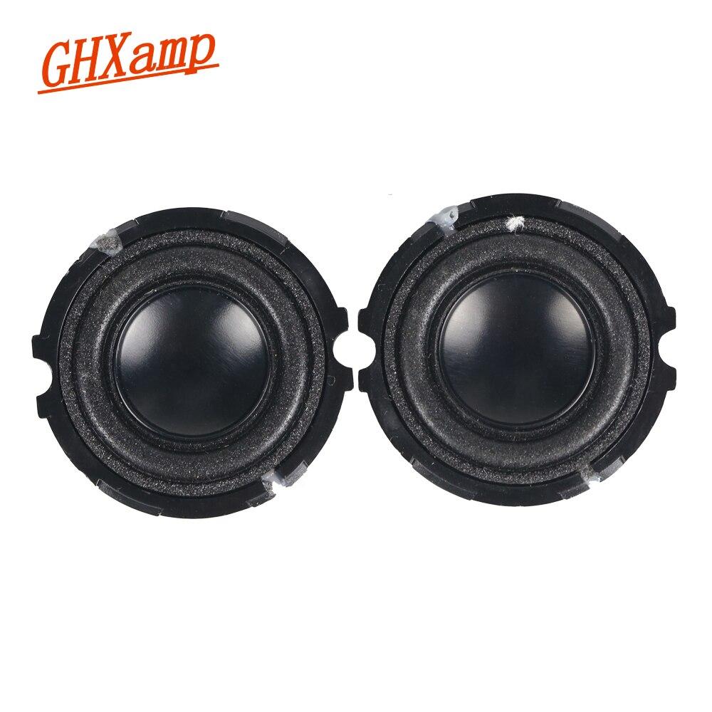 For Pill 1.0 2.0 Bluetooth Portable Speaker Repair 1 inch 4OHM 3W Full Range Speaker Neodymium DIY 2PCS h 019 fountek fr88ex full range 3 inch hifi speaker amplifier speaker hot sale 84 3db 1w 1m