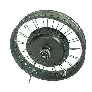 20in 36/48V Fat Ebike rueda 1 pieza 250/350/1000/1500W bicicleta para nieve eléctrica delantera/trasera rueda de repuesto con Motor de cubo