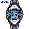 SMAEL Children Sports Watches Smart Black Auto Date Waterproof Fashion Casual Hot0616S Student Watch LED Clocks Digital Watches