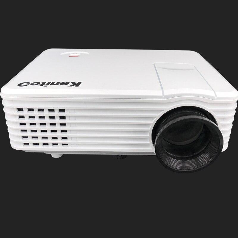 Venta caliente 800*480 full hd LLEVÓ el Proyector Del Soporte 1080 P para Entret