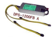 Envío libre DPS-1200FB 438202-001 1200 w 12 V 100A salida usado probado bien