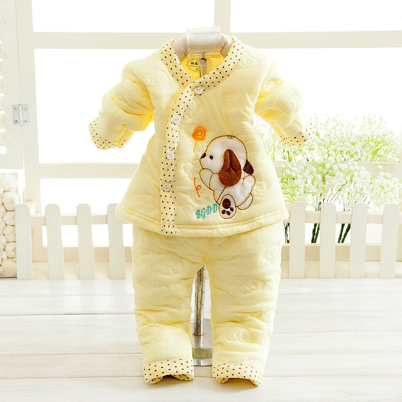 2528084488_1110716925  Retail child lady garments autumn & winter child clothes lengthy sleeve child kleding women garments winter boy garments set HTB11nfGnMoQMeJjy0Fpq6ATxpXaR