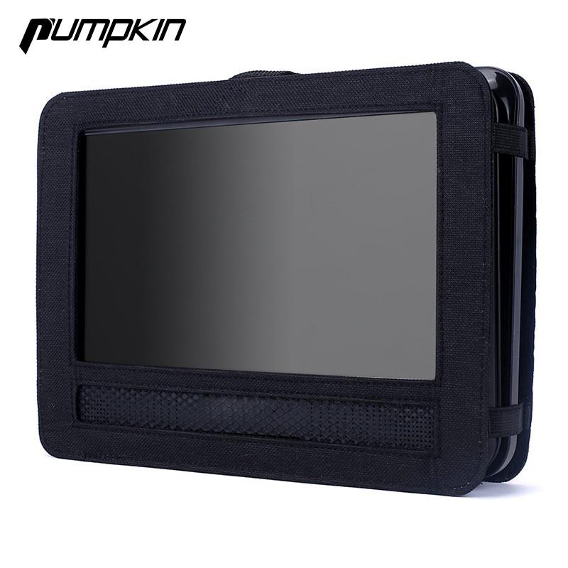10-инчов преносим държач за кола DVD плейър за глава облегалката на врата възглавница защитен автомобил монитор случай покритие на глава в колата