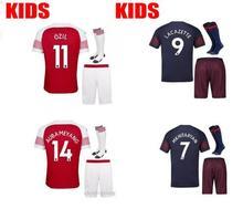 03723a70063 YMXJYWL 2018 2019 Arsenal Gunners 3rd soccer jersey 18 19 ALEXIS XHAKA  GIROUD