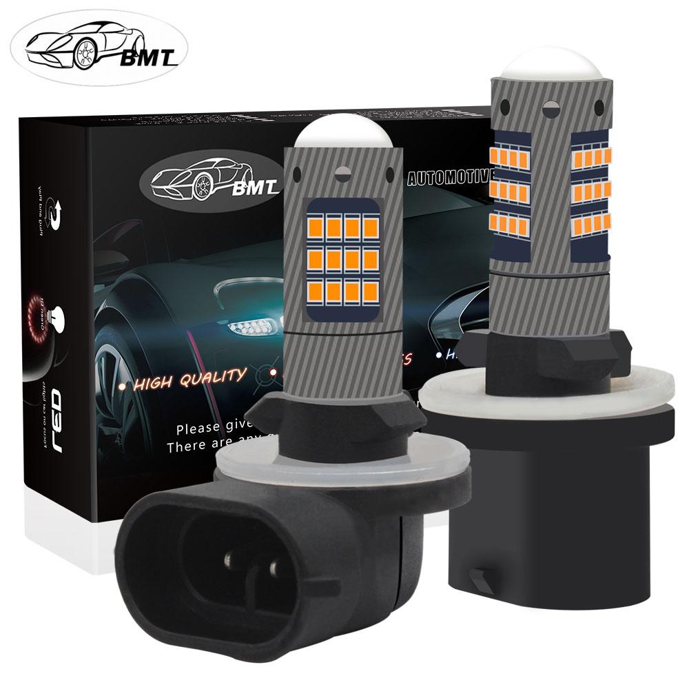 BMT H27 H27w2 H27w/2 LED Bulb H27w 880 881 H27w1 42SMD Led Fog Lights Lamp Cars Daytime Running Lights DRL LED 12V 24V Auto Lamp