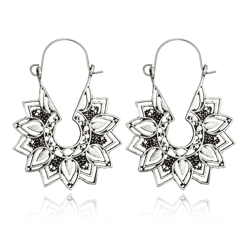 Crazy Feng Vintage Ethnic Gypsy Earrings 1