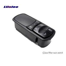 Liislee dla Mercedes Benz Actros ciężarówka lewe frontowe drzwi podnośnik szyby główny wyłącznik podnośnik szyby przełącznik główny przycisk podnoszenia