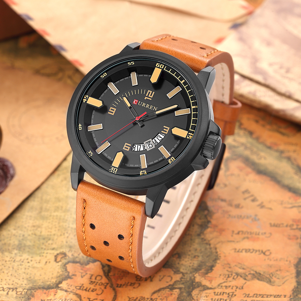 HOT 2018 CURREN Watches Men quartz Top Brand Analog Military male Watches Men Sports army Watch Waterproof Relogio Masculino curren watches men quartz top brand analog military male watch men fashion casual sports army watch waterproof relogio masculino