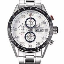Buceo 30 M Deporte de Los Hombres Relojes Multifunción Reloj Militar Relojes Relogio masculino Pagani Diseño de Cuarzo de Acero Inoxidable 2513A