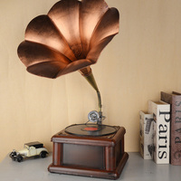 D creative Vintage phonograph parlors Home Furnishing European room decor decoration modern jewelry crafts