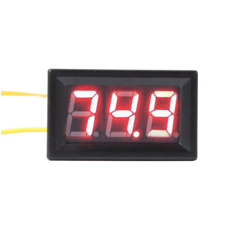 Colorful 0 56 inch AC 70 380V Digital Voltmeter Tester LED Volt Voltage Panel 2 Wires