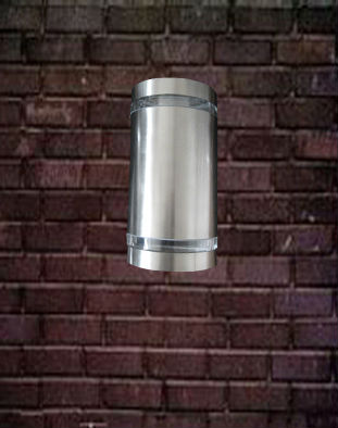 Modern Brief Stainless Steel Outdoor Wall Lamp Porch Light